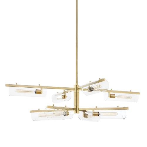 Mitzi H326808 Ariel - Eight Light Chandelier