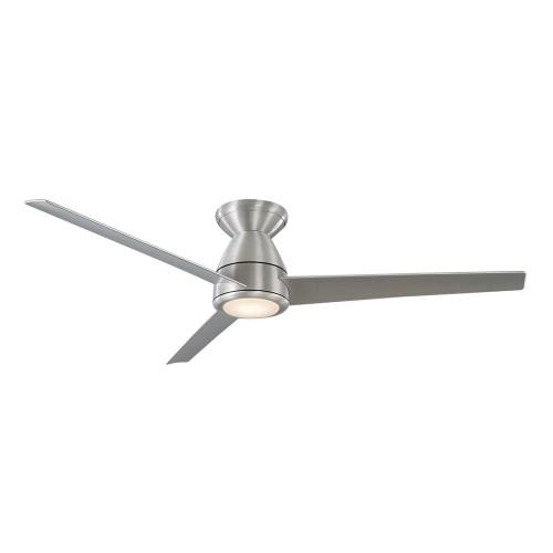 Modern Forms Fans FH-W2004-52L Tip Top - 52 Inch 3-Blade Flush Mount Ceiling Fan with Light Kit and Remote Control