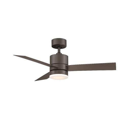 Modern Forms Fans FR-W1803-44L Axis - 44 Inch 3-Blade Ceiling Fan with Light Kit and Remote Control