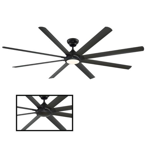 Modern Forms Fans FR-W1805-96L Hydra - 96 Inch 8-Blade Ceiling Fan with Light Kit and Wall Control