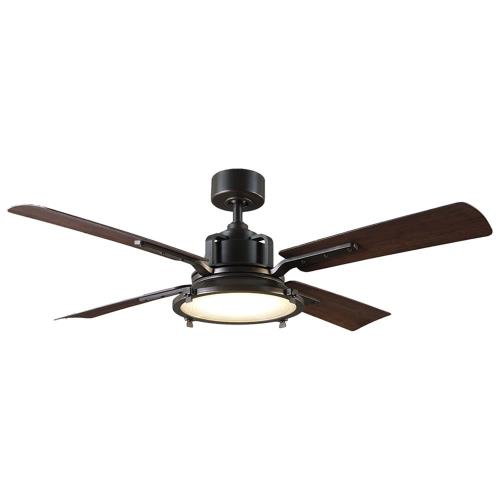 Modern Forms Fans FR-W1818-56L Nautilus - 56 Inch 4-Blade Ceiling Fan with Light Kit and Remote Control