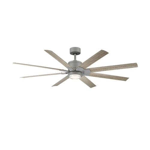 Modern Forms Fans FR-W2001-52L Renegade - 52 Inch 8-Blade Ceiling Fan with Light Kit and Remote Control