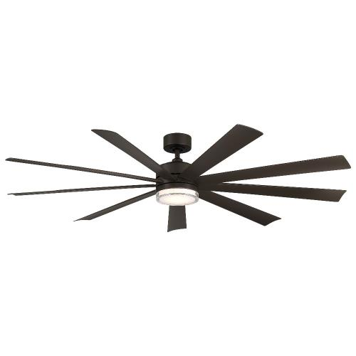 Modern Forms Fans FR-W2101-72L Wynd XL - 72 Inch 9-Blade Ceiling Fan with Light Kit and Remote Control