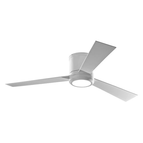 Monte Carlo Fans 3CLYR52-96 3 Blade Ceiling Fan with Handheld Control and Includes Light Kit in Modern Style - 52 Inches Wide by 9.2 Inches High