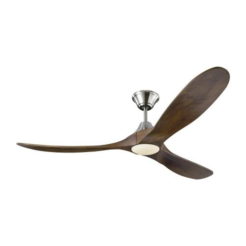 Monte Carlo Fans 3MAVR60LK Maverick LED 3 Blade 60 Inch Ceiling Fan with Handheld Control and Includes Light Kit