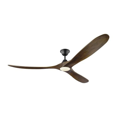 Monte Carlo Fans 3MAVR70D Maverick Max LED - 3 Blade Ceiling Fan with Handheld Control and Includes Light Kit in Modern Style - 70 Inches Wide by 13.8 Inches High