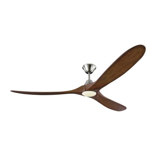 Monte Carlo Fans 3MAVR70LK Maverick Max LED 3 Blade 70 Inch Ceiling Fan with Handheld Control and Includes Light Kit