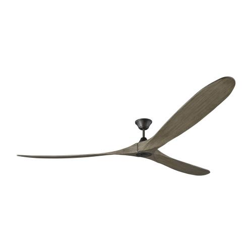 Monte Carlo Fans 3MAVR99 Maverick Grand - 3 Blade Ceiling Fan with Handheld Control in Contemporary Style - 99 Inches Wide by 13.7 Inches High
