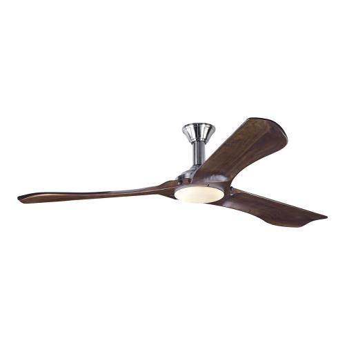 Monte Carlo Fans 3MNLR72-V1 Minimalist Max 3 Blade 72 Inch Ceiling Fan with Handheld Control and Includes Light Kit