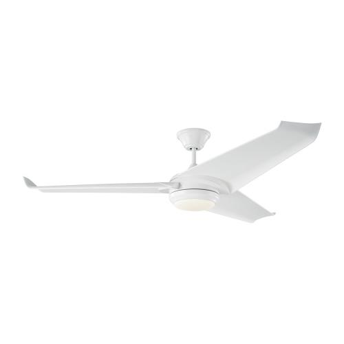 Monte Carlo Fans 3OVR60 Orville 3 Blade 60 Inch Ceiling Fan with Handheld Control and Includes Light Kit