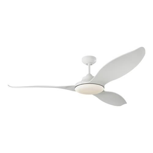 Monte Carlo Fans 3STR60 Stockton 3 Blade 60 Inch Ceiling Fan with Handheld Control and Includes Light Kit