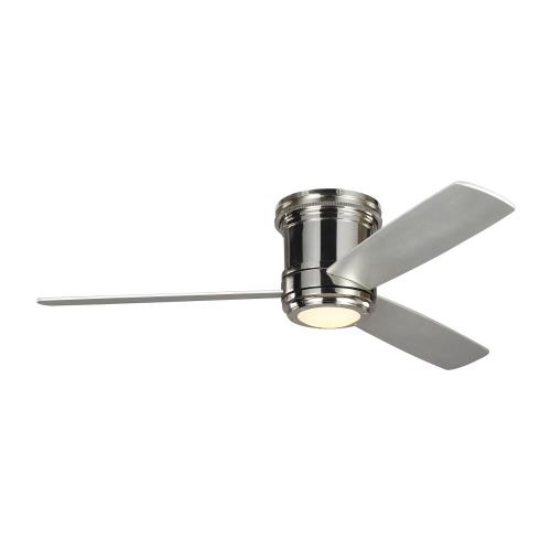 Monte Carlo Fans 3TAHR56 Aerotour - 3 Blade Ceiling Fan with Handheld Control and Includes Light Kit in Designer Style - 56 Inches Wide by 11 Inches High