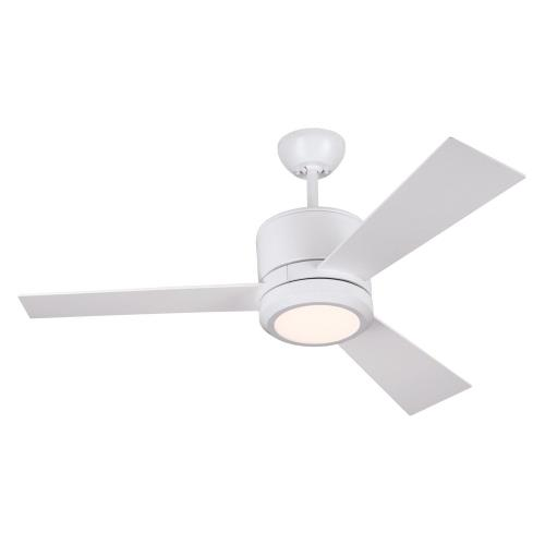 Monte Carlo Fans 3VNR42-II 3 Blade Ceiling Fan with Handheld Control in Modern Style - 42 Inches Wide by 14.6 Inches High