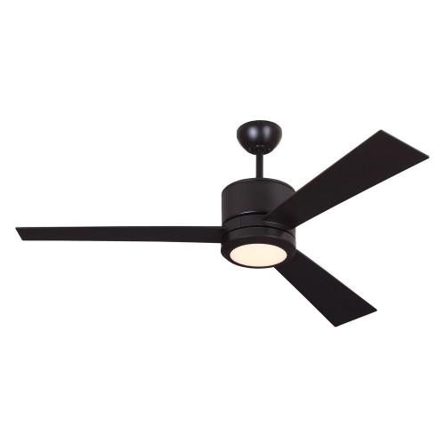 Monte Carlo Fans 3VNR52-96 3 Blade Ceiling Fan with Handheld Control in Modern Style - 52 Inches Wide by 14.6 Inches High