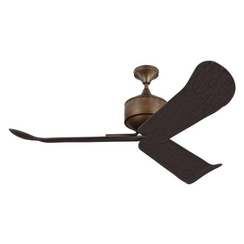 Monte Carlo Fans 3DYLAN Dylan 3 Blade 56 Inch Ceiling Fan with Handheld Control