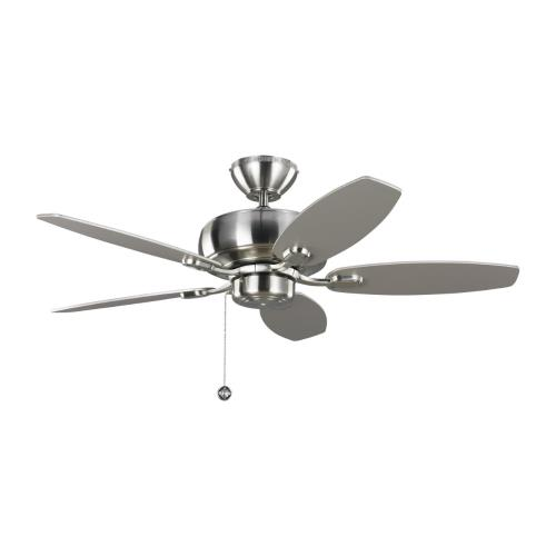 Monte Carlo Fans 5CQ44 Centro Max II - 5 Blade Ceiling Fan with Pull Chain Control in Transitional Style - 44 Inches Wide by 13.09 Inches High