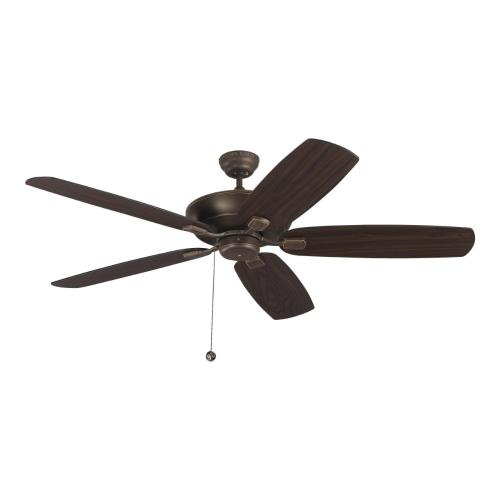 Monte Carlo Fans 5CSM60 Colony Super Max 5 Blade 60 Inch Ceiling Fan with Pull Chain Control