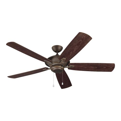 Monte Carlo Fans 5CY6 Cyclone 5 Blade 60 Inch Ceiling Fan with Pull Chain Control