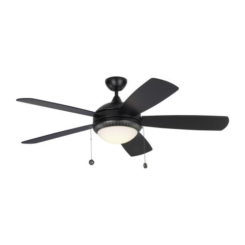 Monte Carlo Fans 5DIO52 Discus Ornate 5 Blade 52 Inch Ceiling Fan with Pull Chain Control and Includes Light Kit