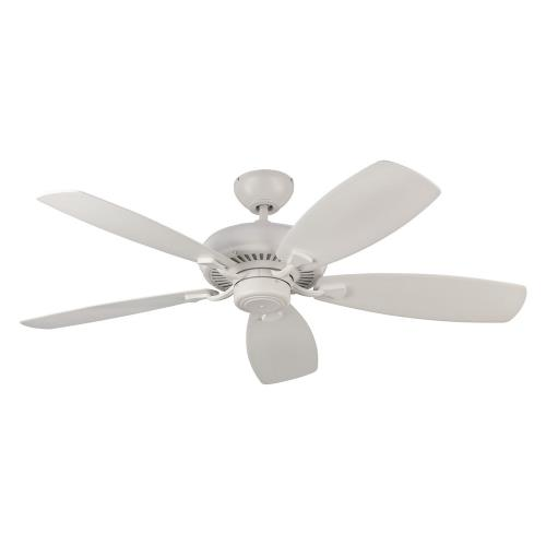 Monte Carlo Fans 5DM52RZW Designer Max 5 Blade 52 Inch Ceiling Fan with Pull Chain Control