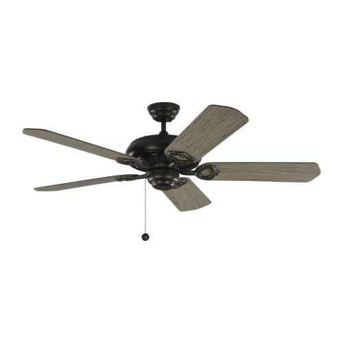 Monte Carlo Fans 5YK52 York 5 Blade 52 Inch Ceiling Fan with Pull Chain Control