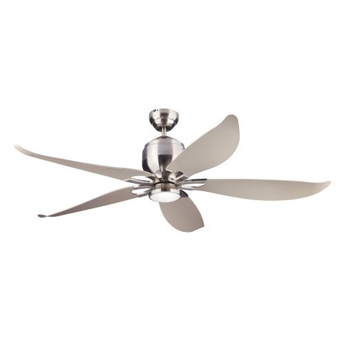 Monte Carlo Fans 5LLR56-96 5 Blade Ceiling Fan with Handheld Control Remote and Includes Light Kit - 56 Inches Wide by 16.19 Inches High