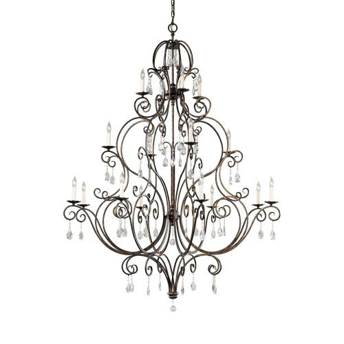 Feiss F2110/8+4+4 Chateau Chandelier 1 Light