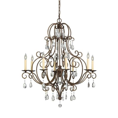 Feiss F2303/8 Chateau Chandelier 8 Light
