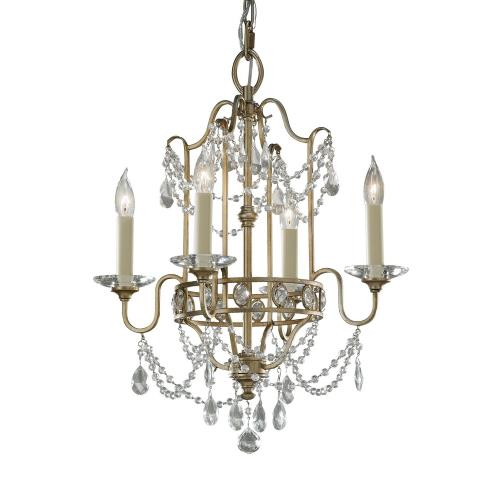 Feiss F2476/4 Gianna - Four Light Chandelier