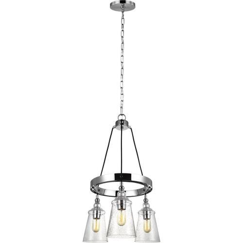 Feiss F3168/3CH Loras - Three Light Chandelier