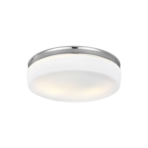 Feiss FM504 Issen - Two Light Flush Mount in Transitional Style - 13.5 Inches Wide by 4.25 Inches High