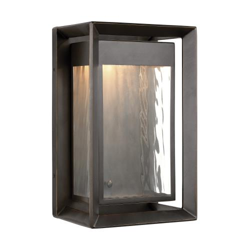 Feiss OL13701 Urbandale - 1 Light Outdoor LED Wall Lantern in Modern Style - 8 Inches Wide by 13 Inches High