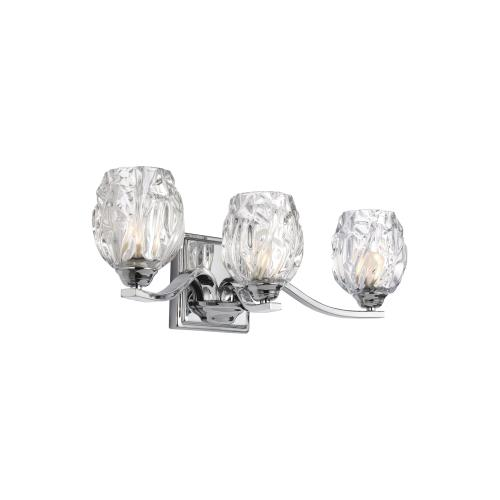 Feiss VS22703 Kalli 3 Light Vanity Approved for Damp Locations