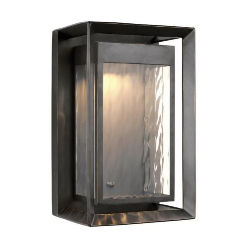 Feiss OL13702 Urbandale - Outdoor Wall Lantern StoneStrong Approved for Wet Locations in Modern Style - 10 Inches Wide by 16.25 Inches High