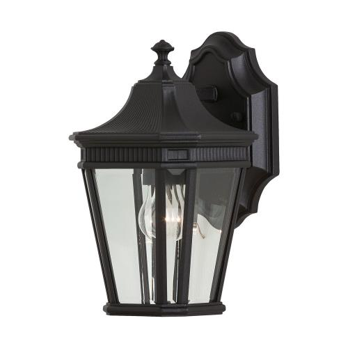 Feiss OL5400 Cotswold Lane - Outdoor Wall Lantern Traditional Aluminum Approved for Wet Locations in Traditional Style - 6.5 Inches Wide by 11.5 Inches High