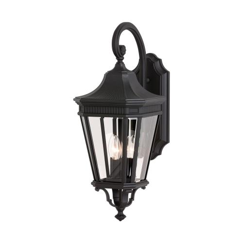 Feiss OL5402 Cotswold Lane 23.75 Inch Outdoor Wall Lantern Traditional Aluminum Approved for Wet Locations