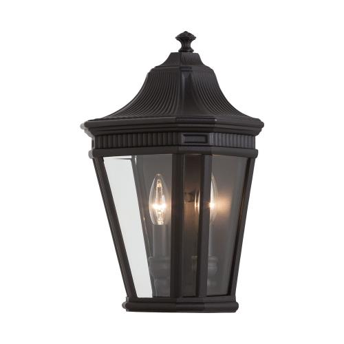 Feiss OL5403 Cotswold Lane 16 Inch Outdoor Wall Lantern Traditional Aluminum Approved for Wet Locations