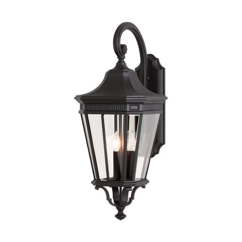Feiss OL5404 Cotswold Lane 30 Inch Outdoor Wall Lantern Traditional Aluminum Approved for Wet Locations