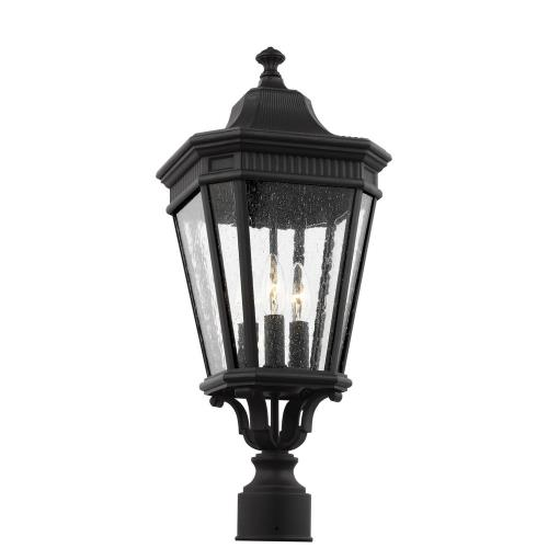 Feiss OL5427 Cotswold Lane - 22.5 Inch Three Light Outdoor Post Lantern