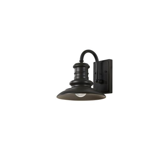 Feiss OL8600 Redding Station - Small Outdoor Wall Lantern Aluminum Approved for Wet Locations in Period Inspired Style - 9 Inches Wide by 9.63 Inches High