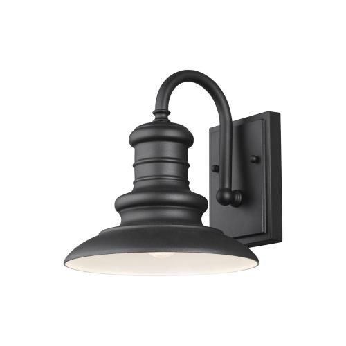 Feiss OL8600 Redding Station 9.63 Inch Small Outdoor Wall Lantern Aluminum Approved for Wet Locations