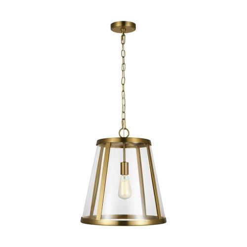 Feiss P1289 Harrow - 1 Light Mini-Pendant in Modern Style - 16 Inches Wide by 17.38 Inches High