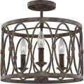 Patrice - Three Light Semi Flush Mount in Transitional Style - 14 Inches Wide by 13.63 Inches High - 1026381