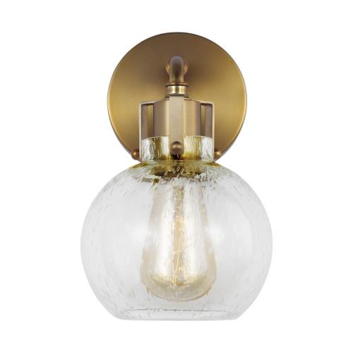 Generation Lighting VS24401 Sean Lavin-One Light Wall Sconce in Transitional Style-6.25 Inches Wide by 10 Inches Tall
