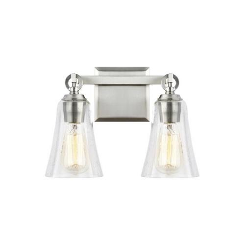 Feiss VS24702 Monterro 2 Light Transitional Bath Vanity Approved for Damp Locations