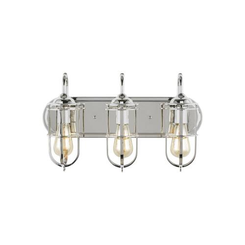 Feiss VS36003 Urban Renewal 3 Light Bath Vanity Approved for Damp Locations
