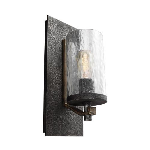 Feiss WB1825DWK/SGM Angelo - One Light Wall Sconce