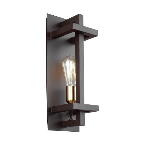 Feiss WB1826 Finnegan - One Light Wall Sconce in Transitional Style - 6 Inches Wide by 17 Inches High
