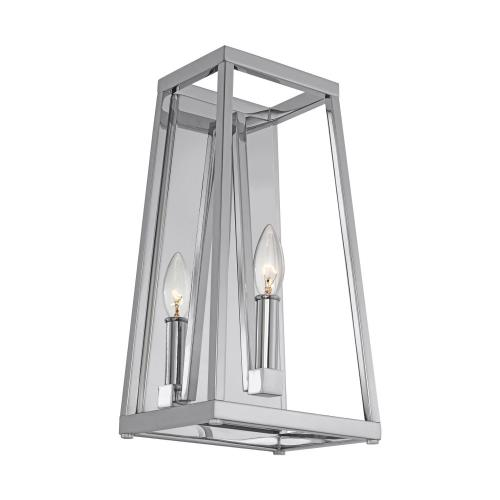 Generation Lighting WB1827 Sean Lavin-One Light Wall Sconce in Transitional Style-8 Inches Wide by 15 Inches Tall