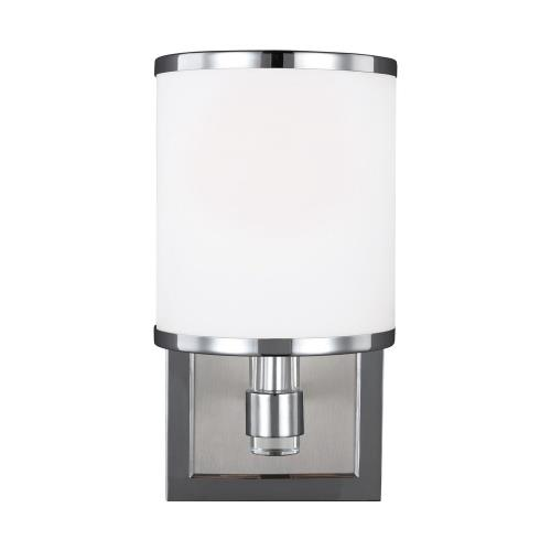 Feiss VS23301 Prospect Park - One Light Wall Sconce in Period Uptown Style - 5 Inches Wide by 9.75 Inches High